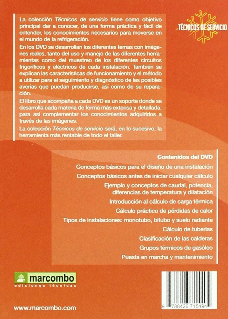 Manual Básico para el Cálculo de Instalaciones de Calefacción DVD 8 : Técnicos de servicio vol.8: Amazon.es: Carles Rosa: Libros