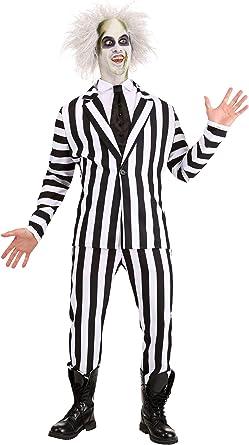 Amazon Com Beetlejuice Adult Costume X Large Clothing