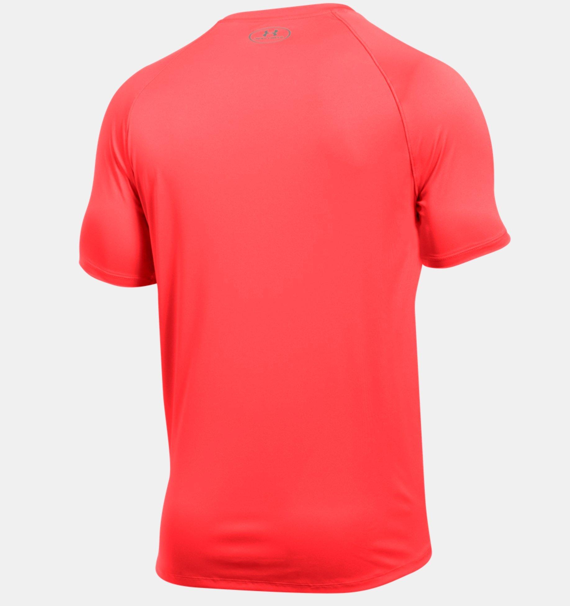 Under Armour Men's Speed Stride Short Sleeve, Marathon Red, X-Large