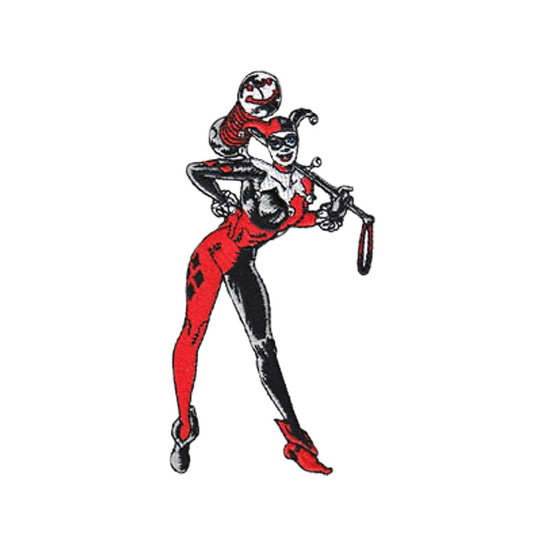 Azul Heron DC Comics Harley Quinn cuerpo completo hierro ...