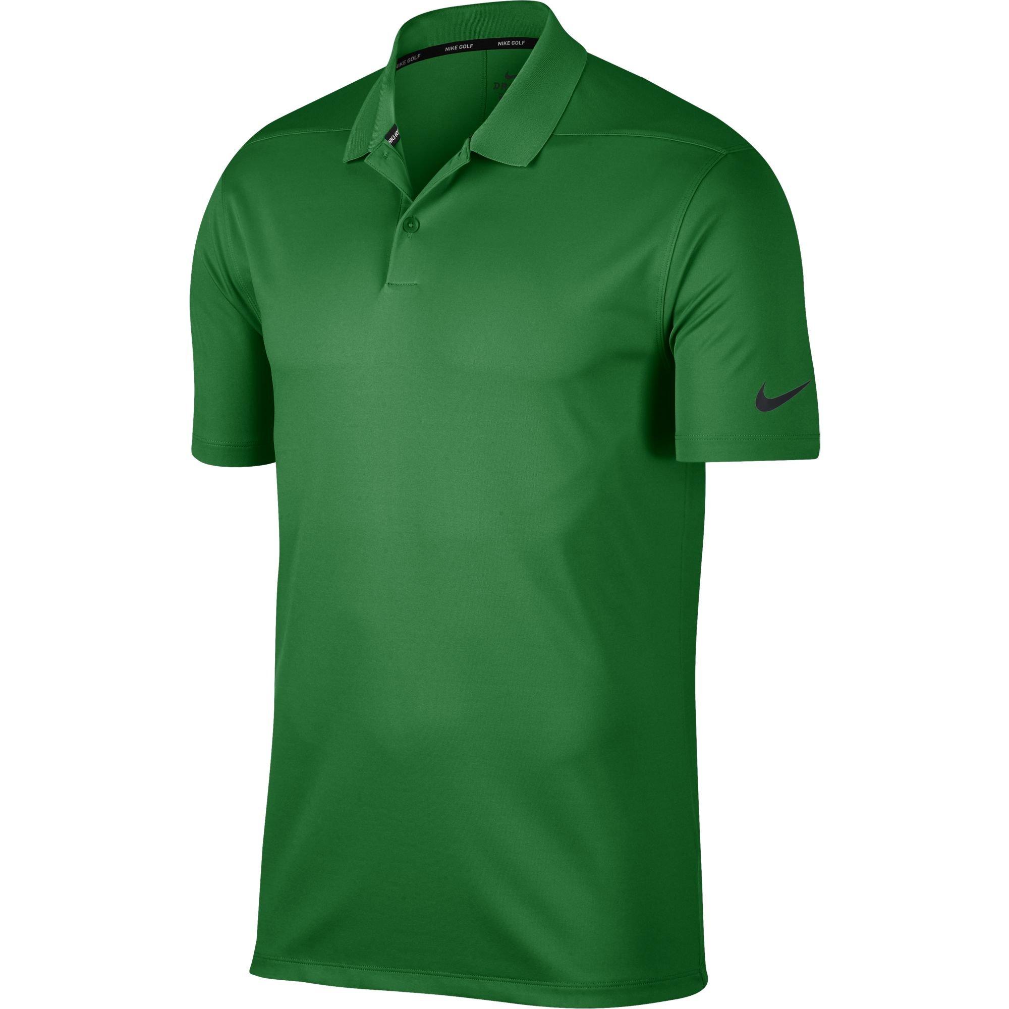 8b5b1d09 Galleon - Nike Men's Dry Victory Solid Golf Polo (Classic Green/Black,  Medium)