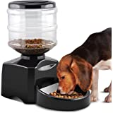 Automatic Feeder Fitiger Large Automatic Pet Feeder Electronic Control Cat Feeder Electric Pet Dry Food Container with LCD Display for Dogs Cats