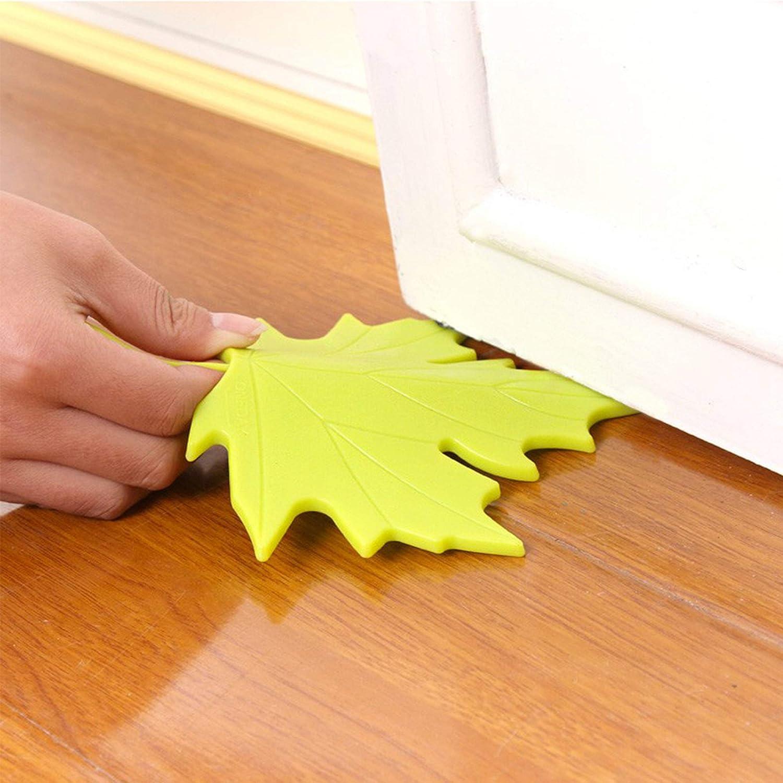 Schneespitze 4Pcs Anti-Clip Door Door Stop Door Stopper Dr/ôle Forme Anti-collision B/éb/é B/éb/é Anti-clip Porte Arr/êt de Porte en /érable