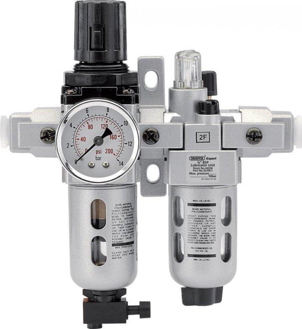 Draper 24333 Filter/Regler / Ö ler, Kombinationsvorrichtung, 1,3 cm BSP Draper Tools Ltd. ALFRL2