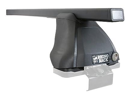 Rhino Rack 2500 Series Euro 2 Bar And Leg Roof Rack Set, 1060mm, Black