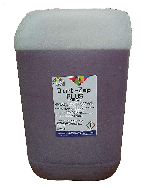Dirt-Zap Plus - Limpiador de bicicletas con cera para quitar la ...