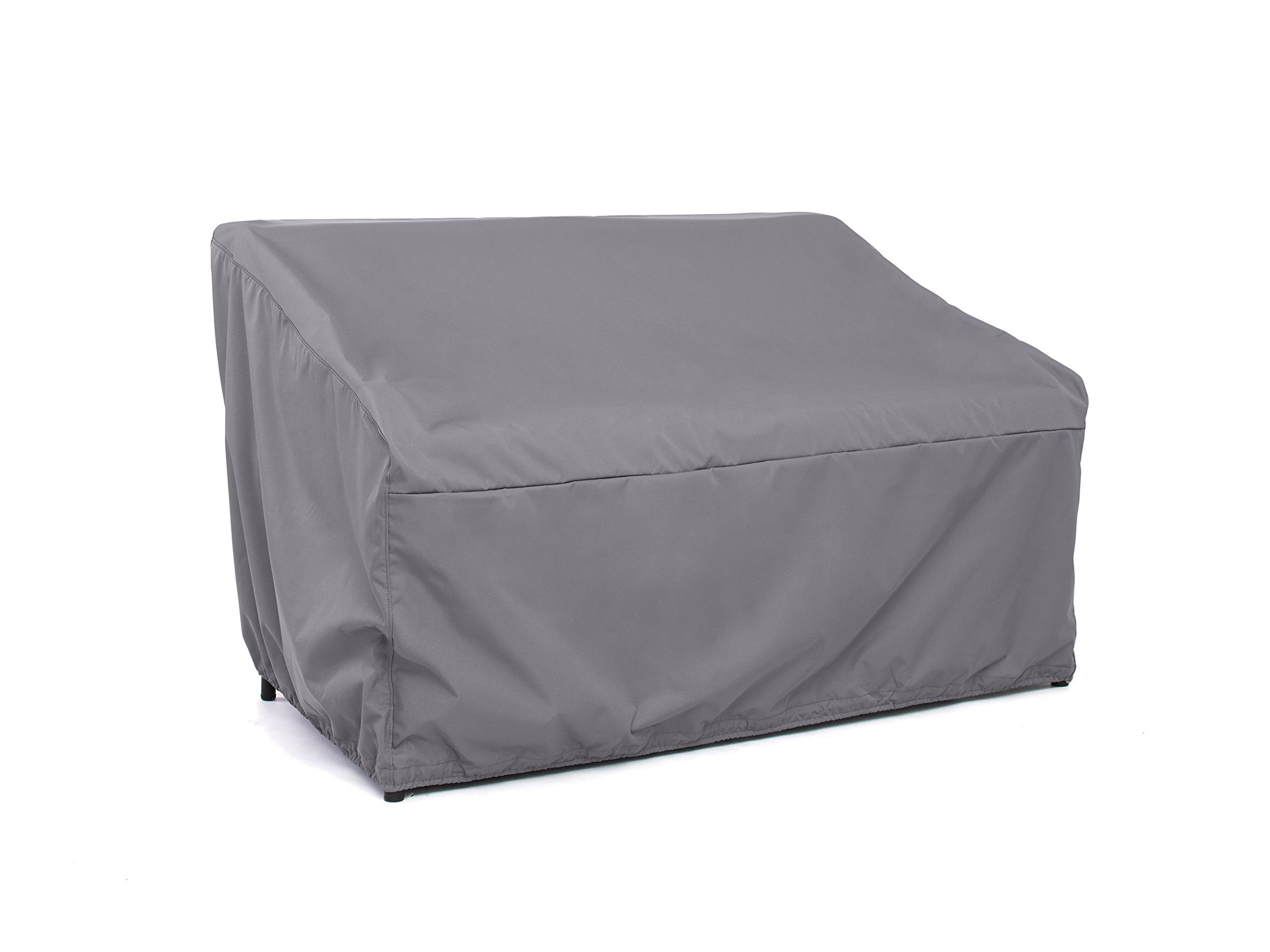 Covermates – Outdoor Patio Glider Cover – 64W x 34D x 38H – Elite Collection – 3 YR Warranty – Year Around Protection - Charcoal