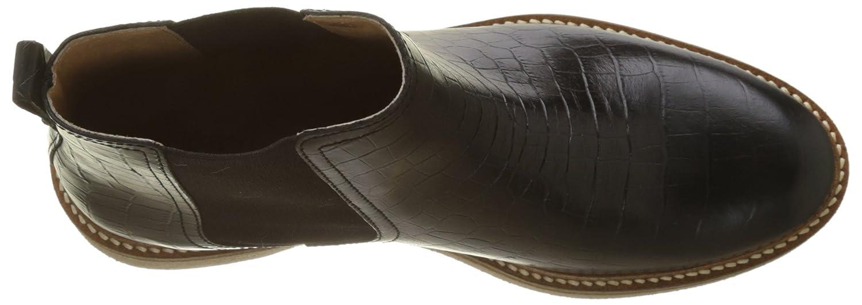 Kickers (Noir Damen Oxfordchic Kurzschaft Stiefel Schwarz (Noir Kickers 8) 5df450