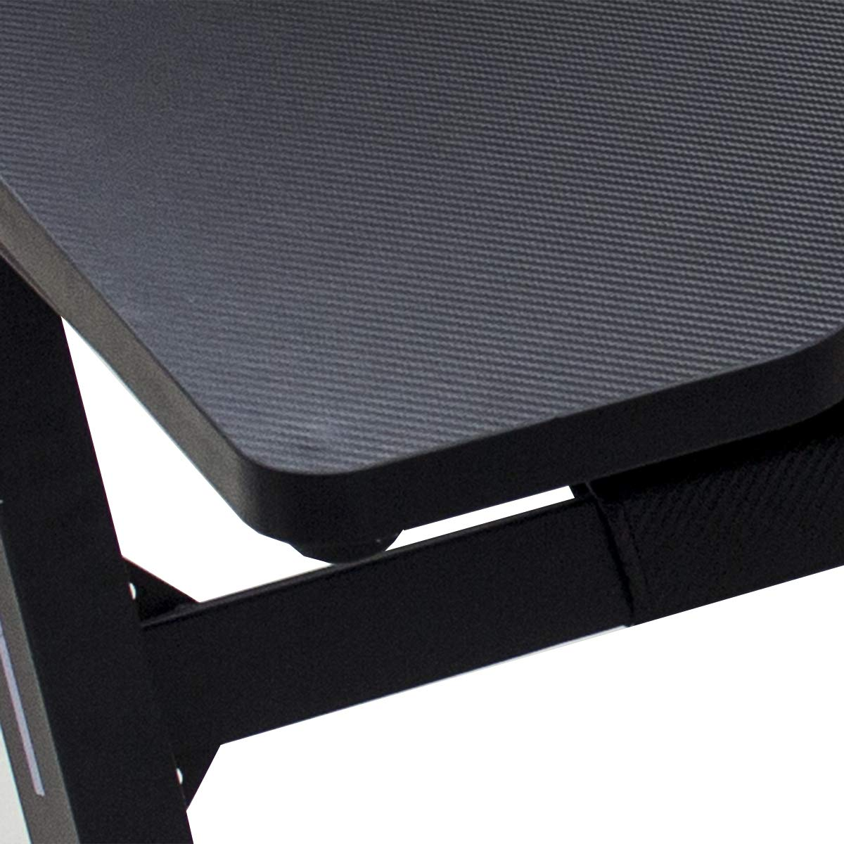 Gaming Desk Computer Table Z Shape, Bizzoelife E Sports Racing Table with LED Light Ergonomic Comfortable Height (47 Inches) by Bizzoelife (Image #7)