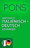PONS Wörterbuch Italienisch -> Deutsch Advanced / PONS Dizionario Italiano -> Tedesco Advanced