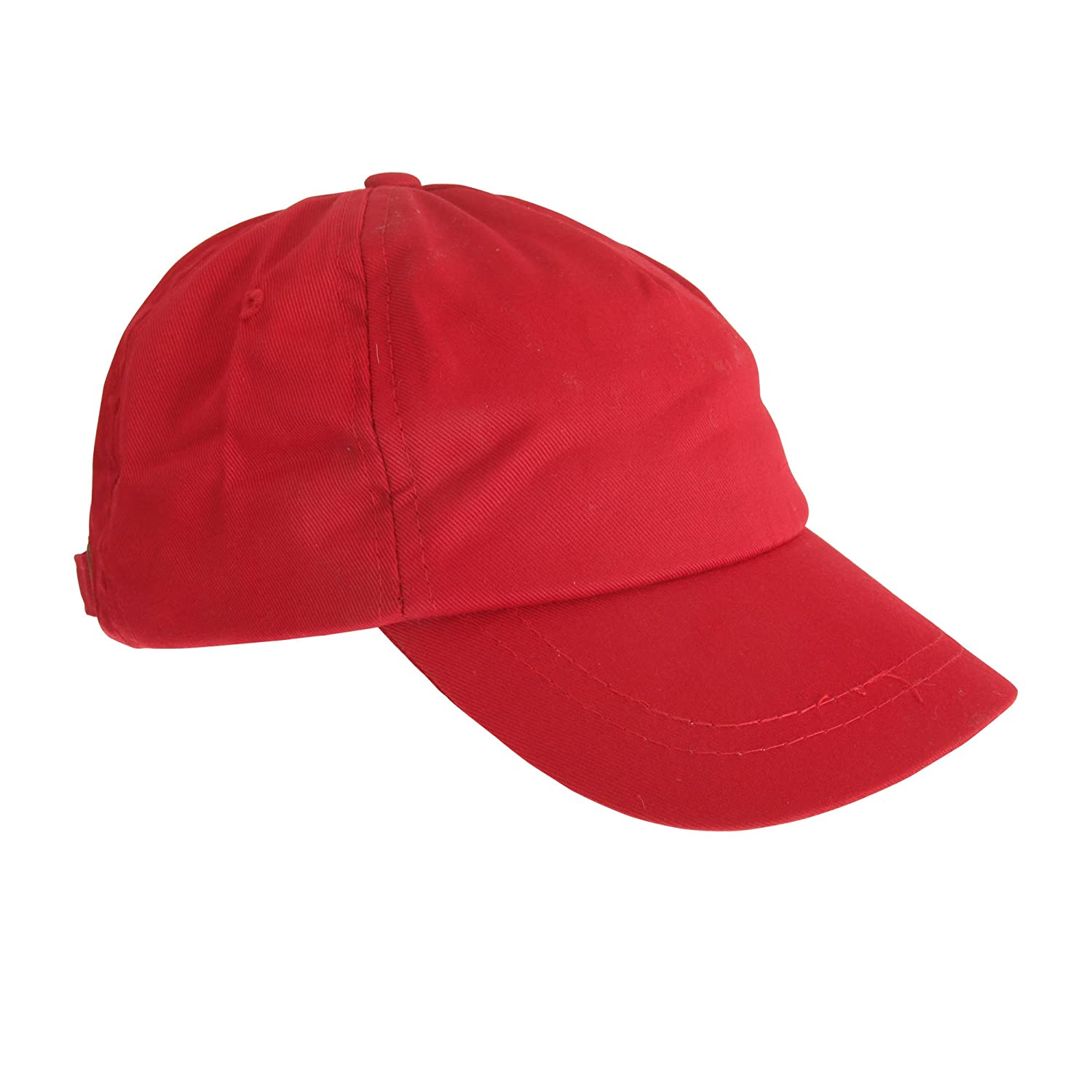 Universal Textiles Childrens/Kids Plain Baseball Cap