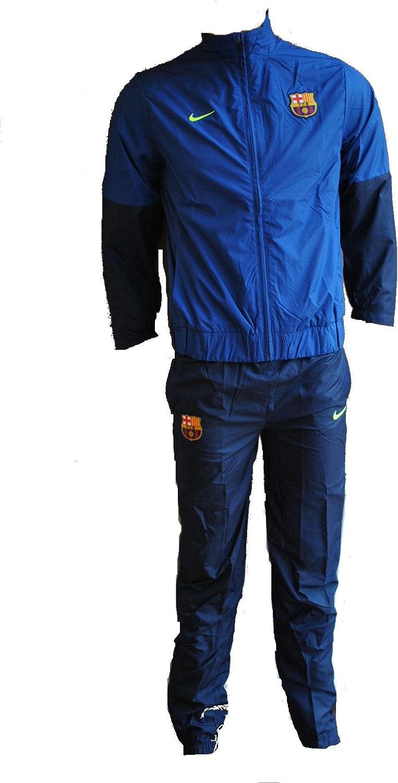 Nike - Chándal para niño del FC Barcelona, color azul Talla:XL ...