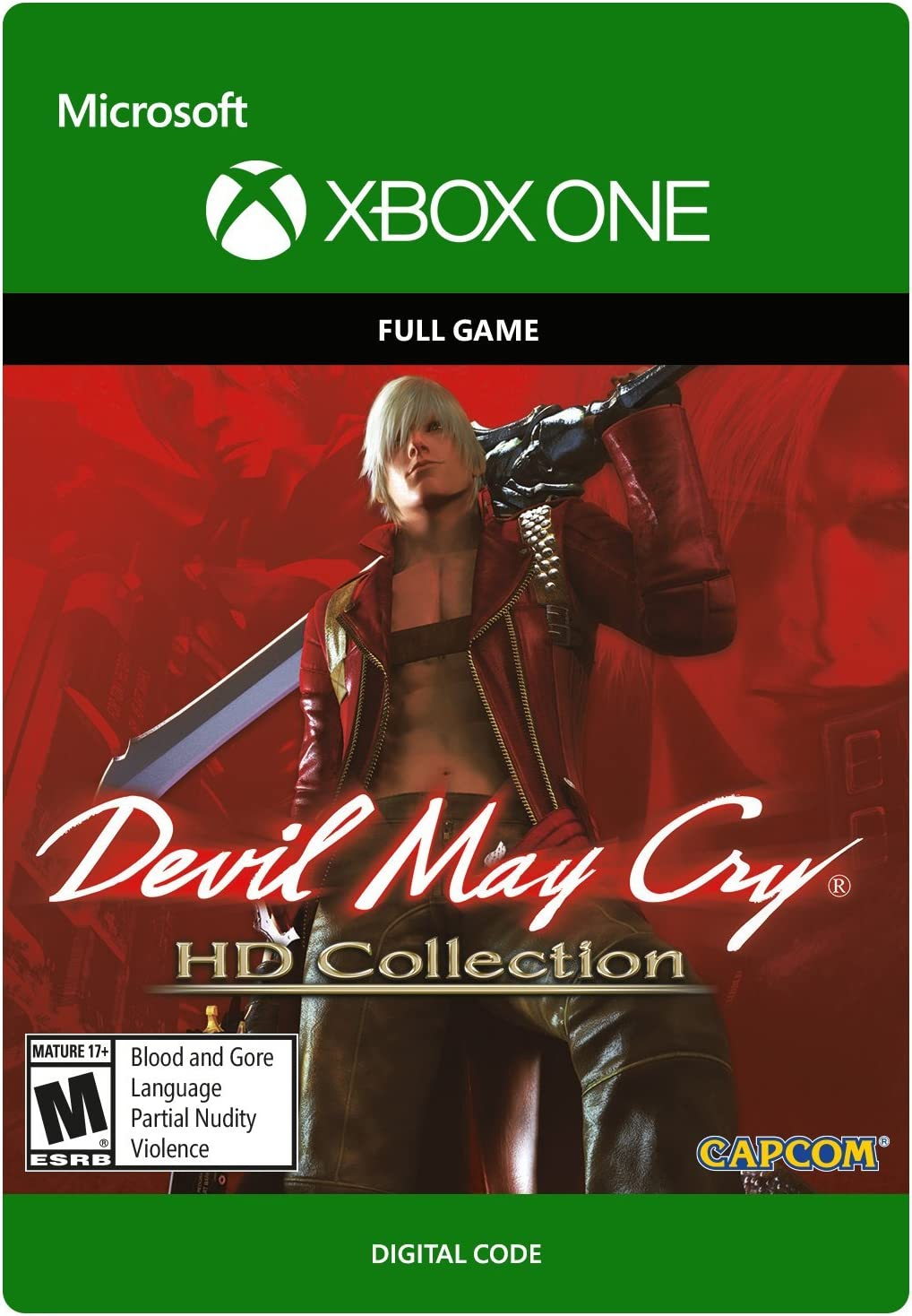 devil may cry 5 xbox one code