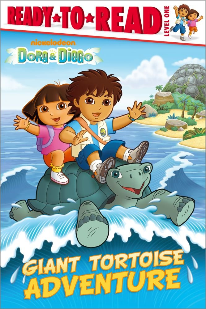 Download Giant Tortoise Adventure (Dora & Diego, Ready-to-Read. Level 1) pdf epub