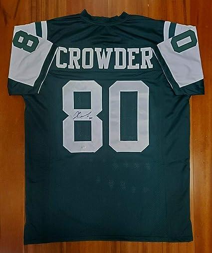 Jamison Crowder Autographed Signed Jersey New York Jets JSA at ...