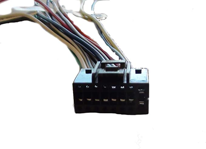 16 Pin Kenwood Excelon KDC-X496 player Wiring Harness
