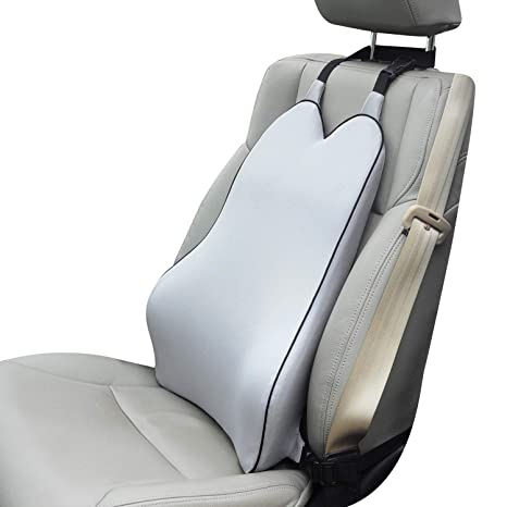 Dreamer Car Back Support Cushion With 2 Straps Designed For SeatBalanced Softness High
