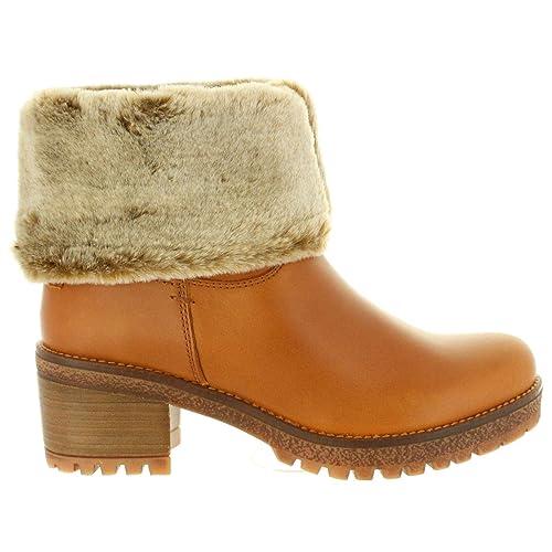 d3c2a54c Botas de Mujer PANAMA JACK PIOLA B32 NAPA Cuero Talla 41: Amazon.es:  Zapatos y complementos