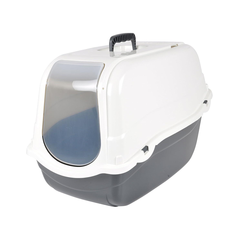 CODICO Maison de Toilette Ivoire avec Couvercle pour Chat 6ANI650BC