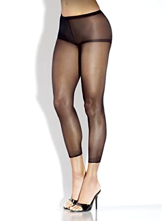 81f020546 Image Unavailable. Image not available for. Color  Extreme Hosiery Sheer  Footless ...