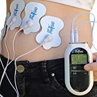 Dr Physio (USA) Portable Tens Electronic Pulse Massager Digital physiotherapy Machine For Body Pain Relief