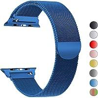 iBander Apple Watch iWatch Cinghie per Serie 4/3/2/1 in Acciaio Inox milanese Loop Metal Accessori di Ricambio Bracciale da Polso