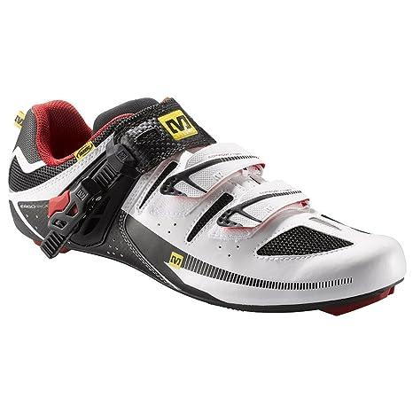 Mavic - Zapatillas de Ciclismo para Hombre White/Bright Red