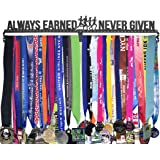 Gone For a Run | Runner's Race Medal Hanger | Always Earned Never Given | Extra Long
