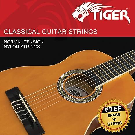 Alice AC130-N - Cuerdas para guitarra de concierto: Amazon.es ...