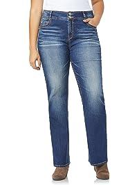 8c5f84e13b2 WallFlower Plus Size Luscious Curvy Bootcut Jeans