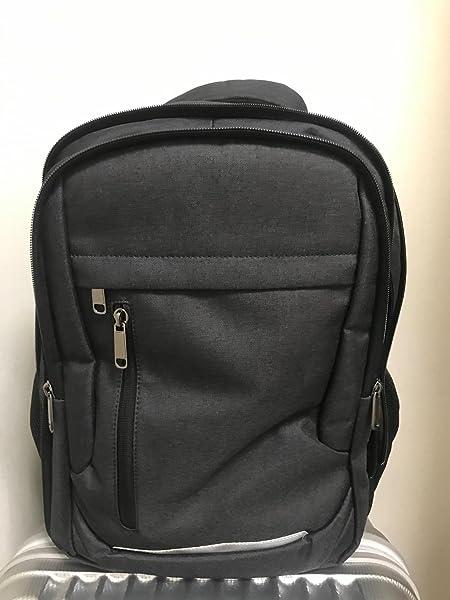 NUBILY-リュック-メンズ-バッグパック-大容量-防水-カバー付き-リュックサック-15-6インチPCリック-ビジネスリュック-USBポート-ブラック