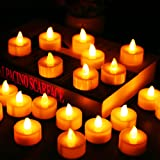 Amazon Price History for:Flameless Candles, LED Tea Light Candles With Battery-Powered wedding Candles Decorations For Parties Events Tealight Candles (24 Pack)