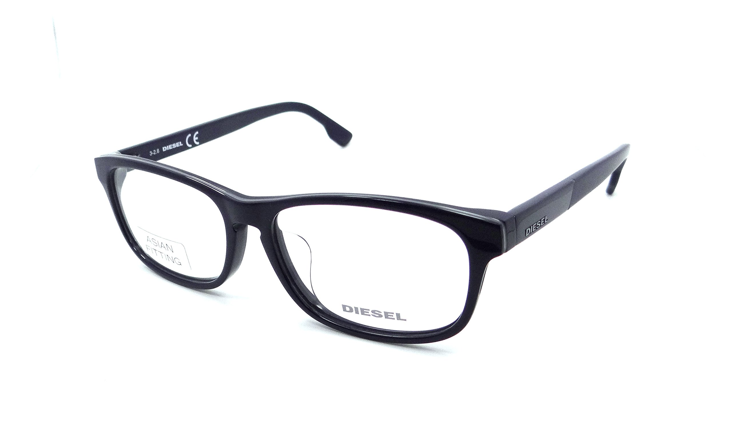 Diesel Rx Eyeglasses Frames DL5197-F 090 56-15-145 Blue Grey Blue Asian Fit