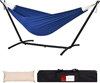 Lazy Daze 450 Pounds Capacity Hammocks with Head Pillow