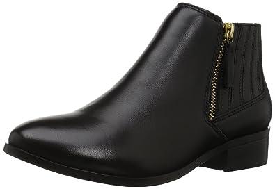 b5d41a4d49f3fb Amazon.com | ALDO Women's Taliyah Ankle Bootie, Black Leather, 6.5 B ...