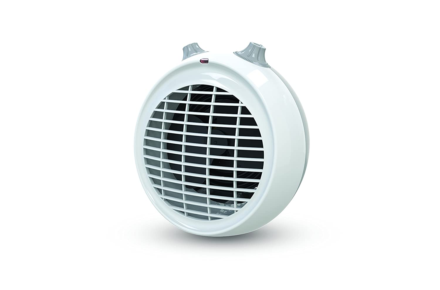 Dimplex DXUF30TN Upright Fan Heater Complete with Thermostat and Choice of Heat Settings, 3000 W, White/Light Grey