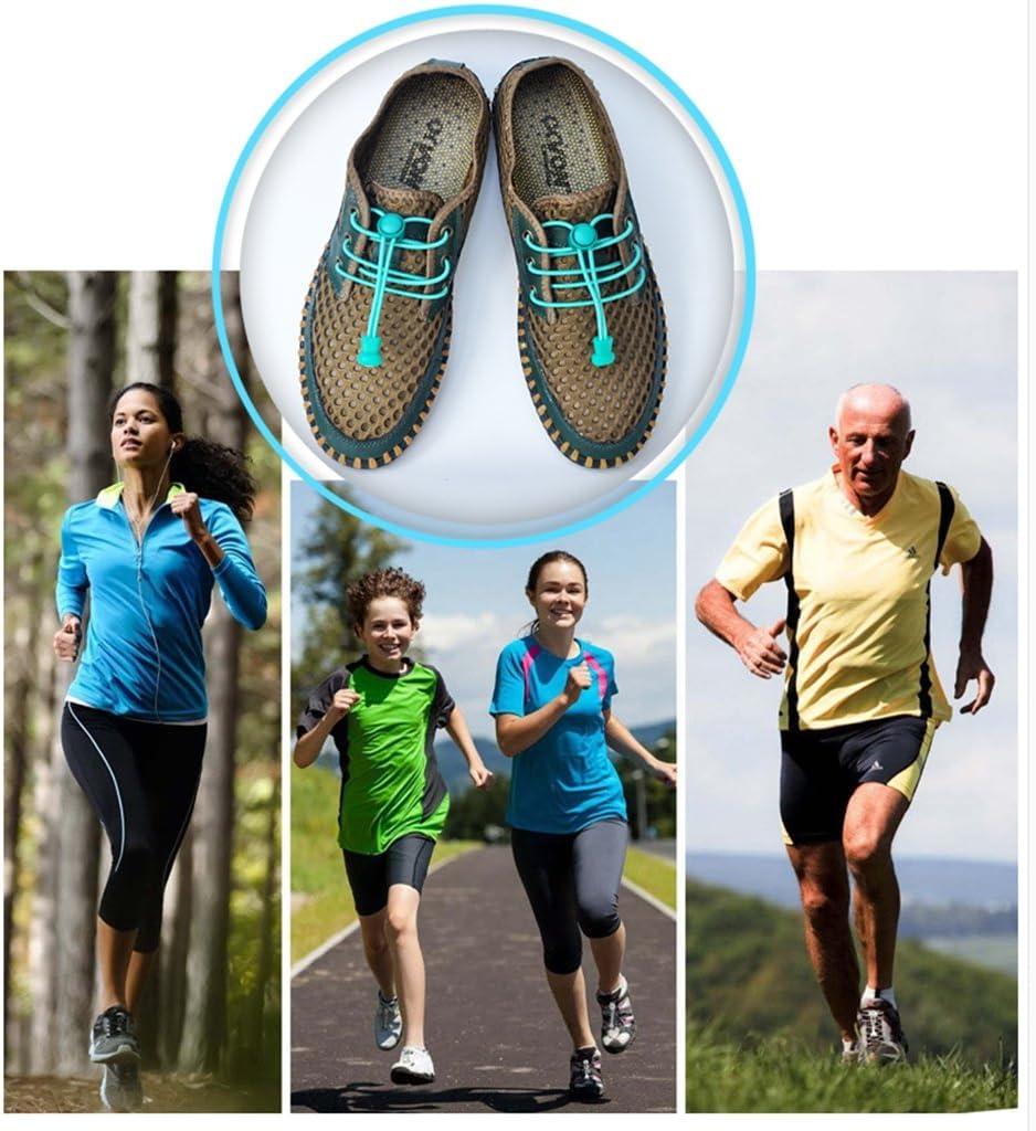 lacets de chaussures pour vos chaussures un ajustement parfait et une forte 5 paire de la/çage lacets /élastiques rapides avec lacets rapide de verrouillage lacets