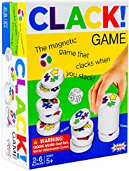 CLACK! Kids Magnetic Stacking Game with 36 Magnets