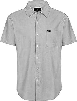 BRIXTON Charter Oxford S/S Wvn - Camisa Hombre: Amazon.es: Deportes y aire libre