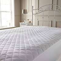 Quilted Mattress Protectors Extra Deep Bed Size Cover Fully Fitted