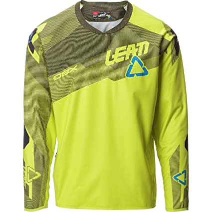 Image Unavailable. Image not available for. Color  Leatt 5.0 All Mountain  DBX Long-Sleeve Jersey - Men s Lime ... e60c75735
