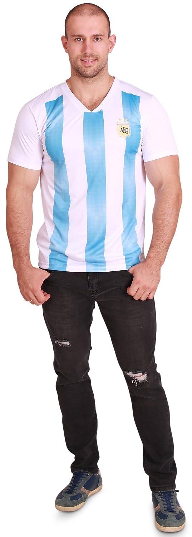 World Cup Jersey SHIRT メンズ B07DPDQB4H Men-S/M|Argentina-men-logo Argentina-men-logo Men-S/M