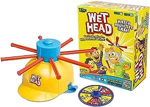لعبة تحدي سقوط الماء من قبعة الراس WET HEAD CHALLENGE