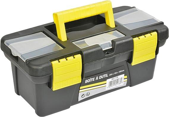 Caja de herramientas 25 x 12 x 10 cm: Amazon.es: Bricolaje y herramientas