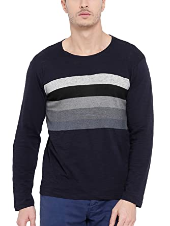 c9b4def9d4e8 TSX Men's Cotton Stylish Full Sleeves T-shirt: Amazon.in: Clothing &  Accessories