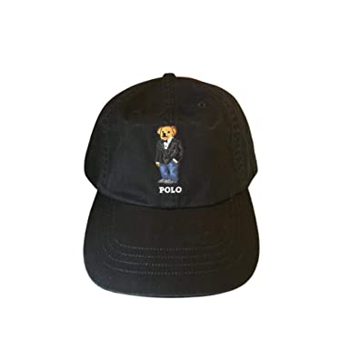 Image Unavailable. Image not available for. Color  Polo Ralph Lauren Mens  Teddy Bear Adjustable Ball Cap Hat 71ac4526005