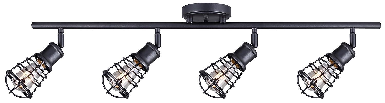 CANARM LTD. IT356A02BPT10 James 電球2個用 トラック照明 4 light IT611A04GPH 1 B01LBFU48A 4 light|黒鉛 黒鉛 4 light