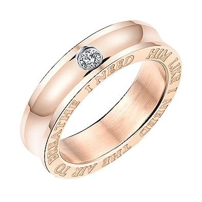 Hijones Edelstahl Paar Spiegel Polnischen Solitaire Diamant