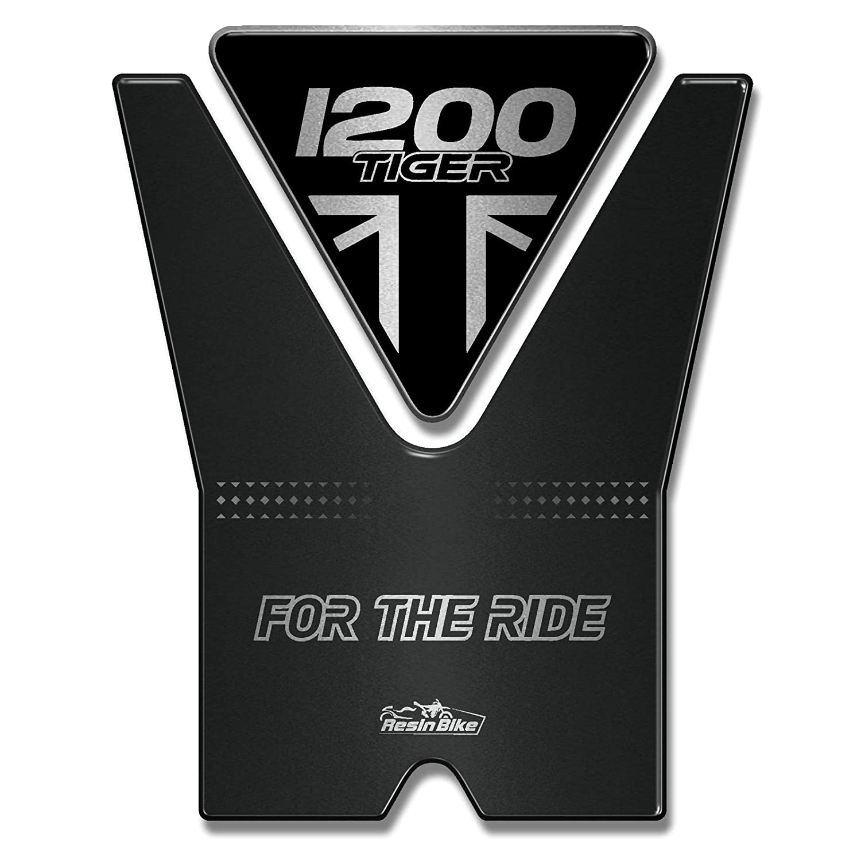 Adesivo 3d Paraserbatoio Compatibile Con Triumph Tiger 1200 2020 Jet Black