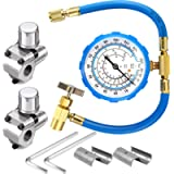 2 Pack BPV31 Bullet Piercing Tap Valve Kits Compatible with 1/4, 5/16, 3/8 Inch Outer Diameter Pipes and R134A Air…
